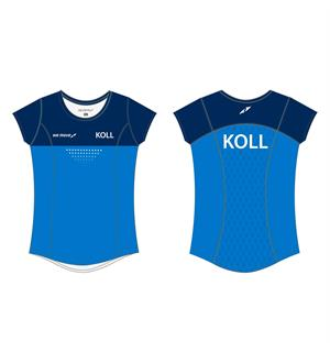 WEMOVE KOLL Tee JR Girl Teknisk t-skjorte for jente