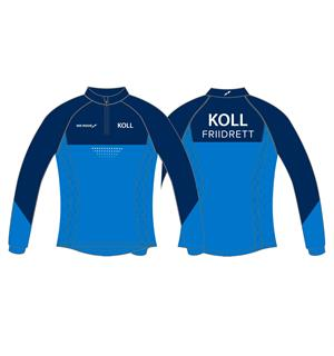 WEMOVE KOLL LS Jsy JR Girl Treningsgenser for jente