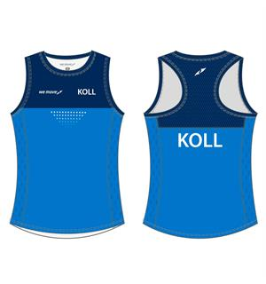 WEMOVE KOLL Singlet JR Girl Treningssinglet for jente